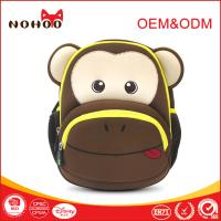 Wholesale 0.29KG Smart Monkey Children School Backpack 3D Cartoon Shockproof Colorful from china suppliers