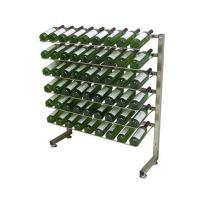 Wholesale Metal Caster Wine Display Rack from china suppliers