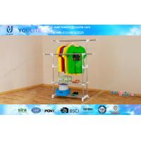 Wholesale Portable Commercial Heavy Duty Drying Rack For Clothes Mobile Sturdy from china suppliers