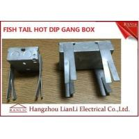 Wholesale Hot Dip Finish GI Electrical Gang Box / Gang Electrical Box 3 inch by 3 inch from china suppliers