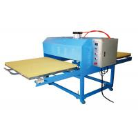 Wholesale Pneumatic Garment Rosin T Shirt Heat Transfer Machine Wide Format Double Working Table from china suppliers