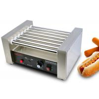 Wholesale Hot Dog Roller Grill Electric Snack Bar Equipment  7 Rollers from china suppliers
