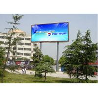 Wholesale P6 Outdoor Advertising LED Displays Full Color Long View Distance from china suppliers