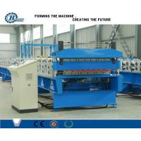 Wholesale Custom Metal Roof Panel Double Layer Roll Forming Machine , Roof Tile Making Machine from china suppliers