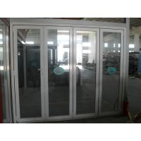 Wholesale Durable aluminum bifold doors for luxury hotels with excellent sound insulation from china suppliers