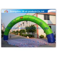 Buy cheap Semicircle Inflatable Arch / Inflatable Air Arch / Inflatable Promotion Arch from wholesalers