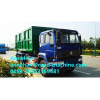 Quality Sinotruk 266hp Garbage Compactor Truck Euro II 6x4 HOWO Hydraulic Arm Hook Lift for sale