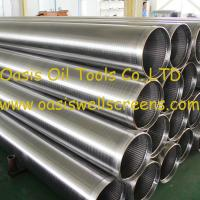 Wholesale Oasis factory supplies stainless steel wire wrapped johnson screens pipe from china suppliers