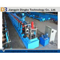 Wholesale Photovoltaic Supporter Slotted Roll Forming Machine Pass CE / ISO from china suppliers