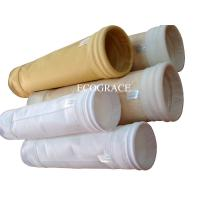 Wholesale Crusher Dust Filter Needle Felt Bags, Cement Gas Filtration Polyester Filter Bag Used in Asphlat mixing from china suppliers