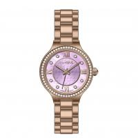 Wholesale Full Stainless Steel Rose Gold Watch For Ladies , Quartz Wrist Watches from china suppliers