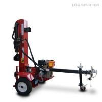 Wholesale Diesel engine power hydraulic Firewood Log Splitter , log splitting equipment from china suppliers