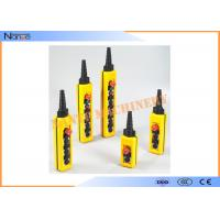 Wholesale IP65 Industrial Remote Pendant Control Stations Plastic For Crane from china suppliers