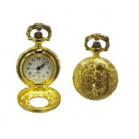 Wholesale Gold Plating Metal Gentleman Pocket Watch With Japan PC Movt from china suppliers