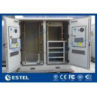 Wholesale Weatherproof Network Base Station Cabinet , Large Outdoor Electrical Cabinet from china suppliers