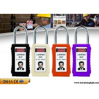 Wholesale 8 Colours Long ABS Body Safety Lockout Padlocks with Luminous PVC Tag from china suppliers