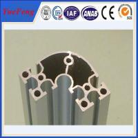 Wholesale electrophoretic aluminum profile manufacturer OEM aluminium t-slot extrusion profiles from china suppliers