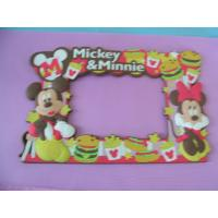 China Mickey and Minnie Soft PVC Picture Frame on sale
