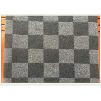 Wholesale Coat Smooth Black And White Buffalo Check Fabric 45% Wool 750g Per Meter from china suppliers