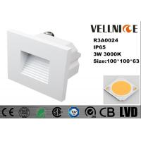 Wholesale Die - Casting Aluminum Outdoor LED Wall Lights 3W IP65 High Efficiency 110mA Ac 230V from china suppliers