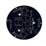 Wholesale Rigid Single side pcb board 1 oz Copper , Min. Line 0.1mm , White Silkscreem from china suppliers