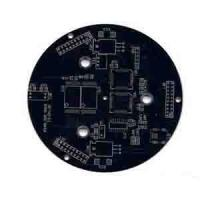 Wholesale Rigid Single side pcb board 1 oz Copper , Min. Line 0.1mm , White Silkscreem from china suppliers