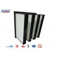 Wholesale Air Conditioning System V Bank Filters Mini Pleated Fiberglass Micron from china suppliers