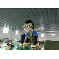 Wholesale Giant 6m High Event  Inflatable Monkey / Inflatable Animal Cartoon For Advertising from china suppliers