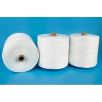 Wholesale Paper Cone Raw White Polyester Ring Spun Yarn High Strength And Knotless from china suppliers