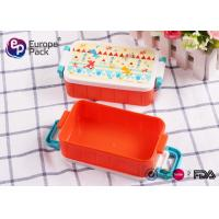 Wholesale 10OZ Kids Plastic Luch Boxes Container from china suppliers