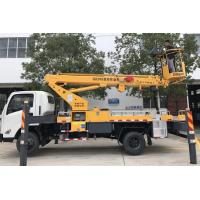 Wholesale 2017s new designed JMC 20M telescopic aerial working platform truck for sale, best price JMC hydraulic bucket truck from china suppliers
