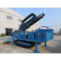 Wholesale Big Torque Rotary Drilling Rig , High Rotary Speed Ground Drilling Machine Ceawler Mounted from china suppliers