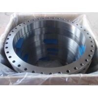 Wholesale ASTM A105 Carbon Steel Forged Flange CE BV SGS , UNI JIS BS Flange For Pipe Fittings from china suppliers