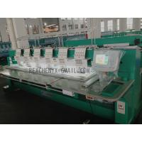 Wholesale Six Head Flat Embroidery Machine/Multi-Head Computerized Flat Embroidery Machine from china suppliers