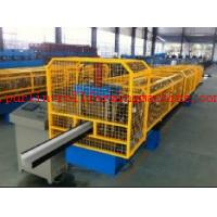 Wholesale High Strength Gutter Cold Roll Forming Line Seamless Gutter Machine , Downspout Machine from china suppliers