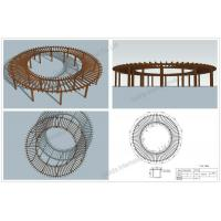Wholesale Prefabricated round pergolas (OLDA-5400A) from china suppliers