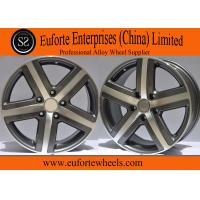 Wholesale TOUARGE Replica European Wheel 18 Inch Black Machined Replica Wheels For Volkswagen from china suppliers