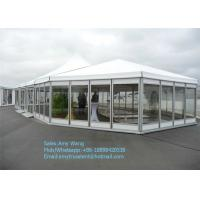 Quality Luxury Glass Mixed Aluminum Tent Party Marquee In Guangzhou For Sale With Colorful Decoration for sale
