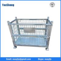 Wholesale Foldable Material Steel Wire Mesh Pallet Box from china suppliers