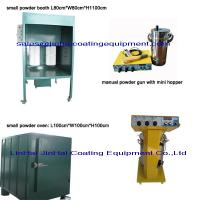 Wholesale Small Powder Coating Line Powder Curing Oven Manual Spray Booth Powder Coating Machine from china suppliers
