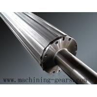 Wholesale Industrial Heavy Duty Steel Rollers , Precision Stainless Steel Conveyor Rollers from china suppliers