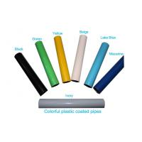 Wholesale Flexible Plastic Coated Steel Pipe In Industrial , Large Diameter Welded Steel Pipe from china suppliers