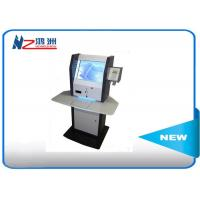 Wholesale LCD multimedia display self service information kiosk with desktop visitor management system from china suppliers