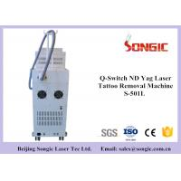 Q Switch ND YAG Laser Tattoo Removal Machine with 1064nm / 532 nm