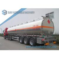 Wholesale Mechanical / Pneumatic Loading Tri-Axle FUWA Oil Tank Trailer 50000L from china suppliers