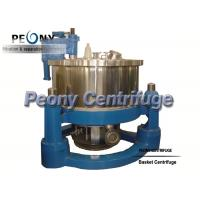 Wholesale Automatic Chemical Scraper Bottom Discharge PSBD Salt Centrifuge / Filtering Equipment from china suppliers