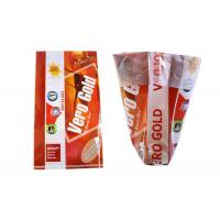 Wholesale Three Side Wheat Flour Packing Bags , Oversized Stand Up Plastic Bags For Food Packaging from china suppliers