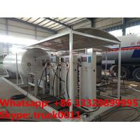 Wholesale customized 10tons skid lpg gas filling station with 4 digital scales,10tons skid lpg gas tank with digital scales from china suppliers