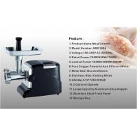 Wholesale Powerful Electric Meat grinder with stainless steel gear and gear box meat grinder hopper from china suppliers