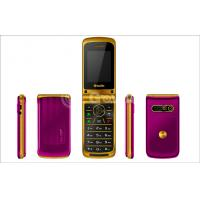 Wholesale Small Unlocked Flip Model Mobile Phones , 8G 950mAh mobile flip phone from china suppliers